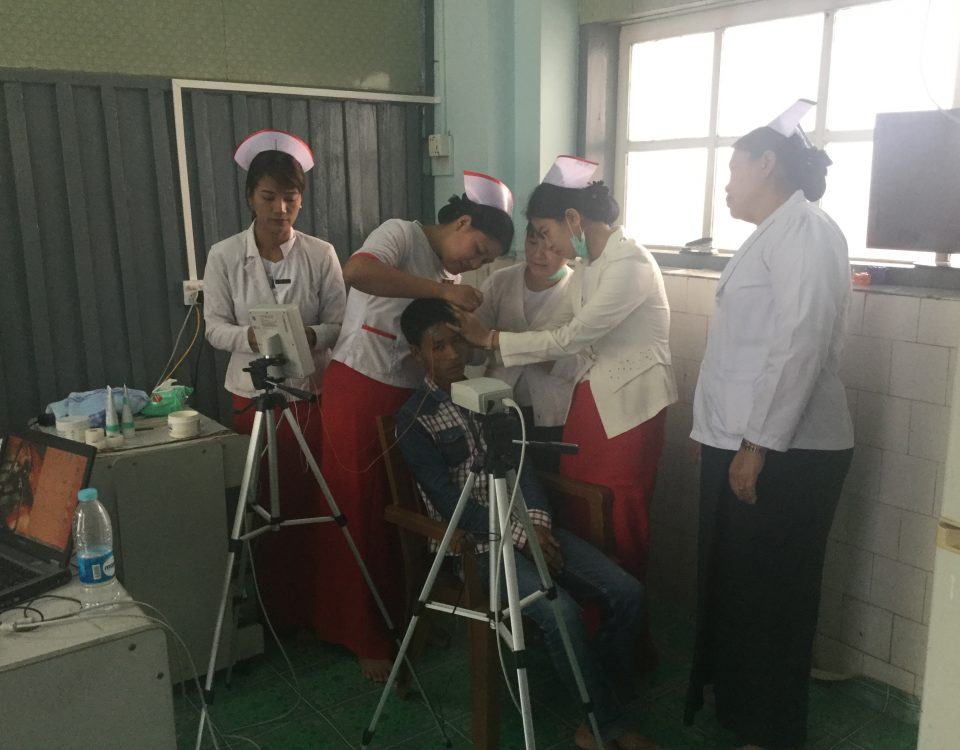 Partnership Working TeleEEG Clinic